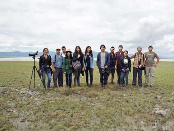 Aves migratorias y conservación de humedales en el lago Cuitzeo