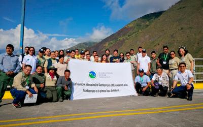 Encuentro de Guardaparques de Latinoamérica Seguimiento a los egresados del programa RESERVA