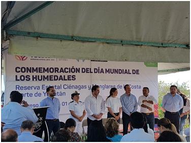Día Mundial de los Humedales en la Costa Norte de Yucatán: Reflexión hacia la importancia de los humedales