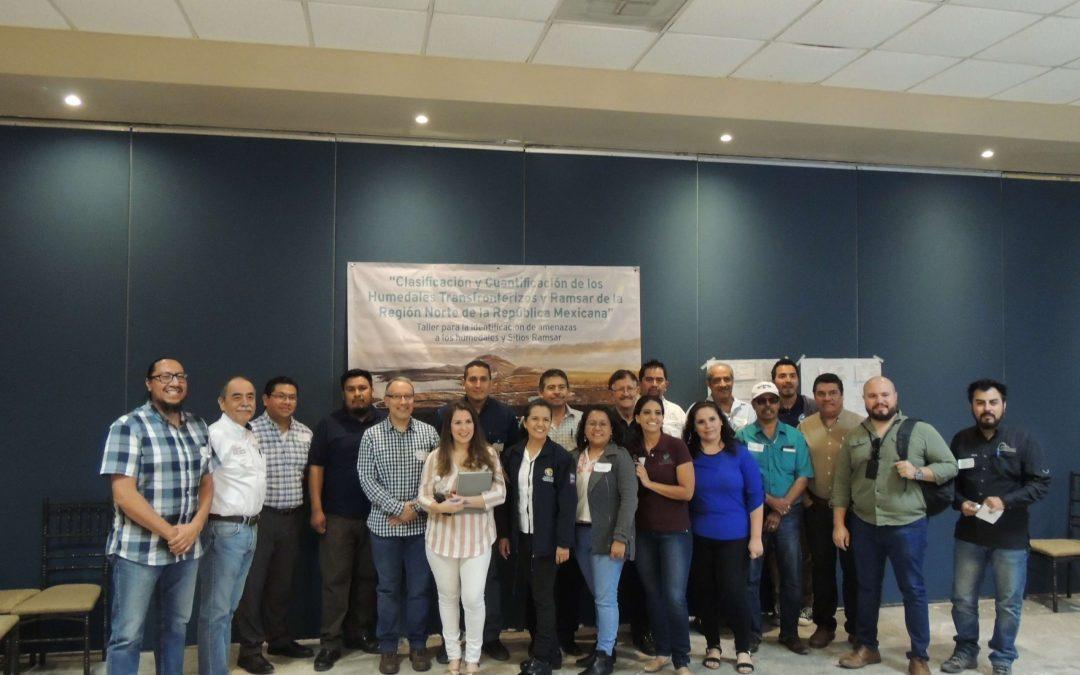 DUMAC realiza talleres con expertos para identificar problemáticas de humedales
