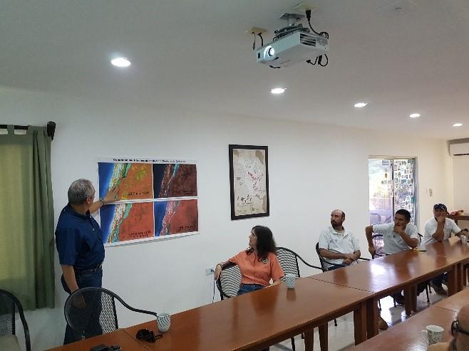 DUMAC recibe en sus instalaciones de Celestún al Comisionado de Áreas Naturales Protegidas