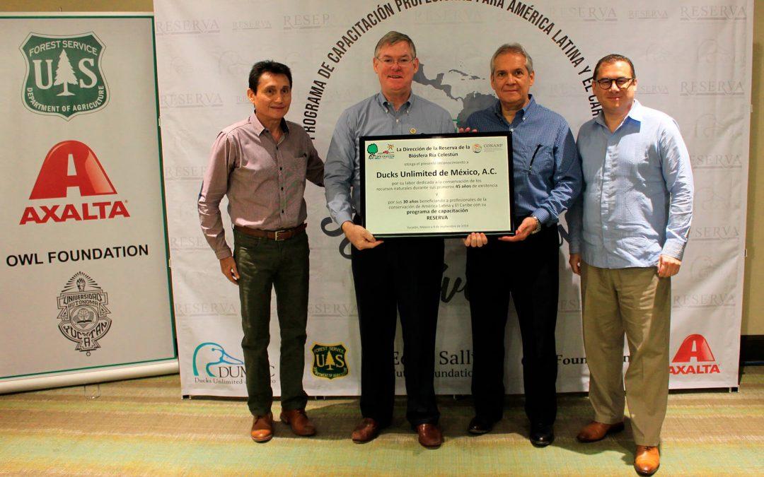 DUMAC celebra 30 años de su programa de capacitación para profesionales de Latinoamérica y 45 años de contribuir a la conservación de humedales en México