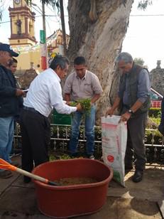 """DUMAC, la CONANP y el Colegio de Postgraduados, llevaron a cabo el Curso- taller """"Alternativas ecológicas de producción agrícola para la conservación y aprovechamiento integral de recursos naturales en las Ciénegas del Lerma, Estado de México"""""""